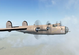 The Lady Be Good - Ghost Bomber of WWII - Map Room - Flight